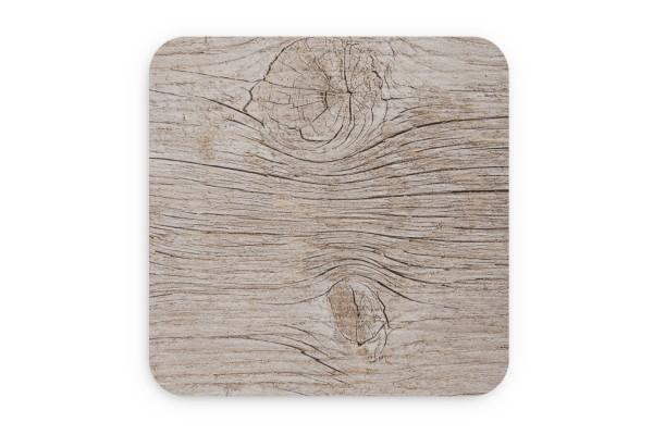 Motiv Untersetzer Holztextur Quadrat 93x93 mm