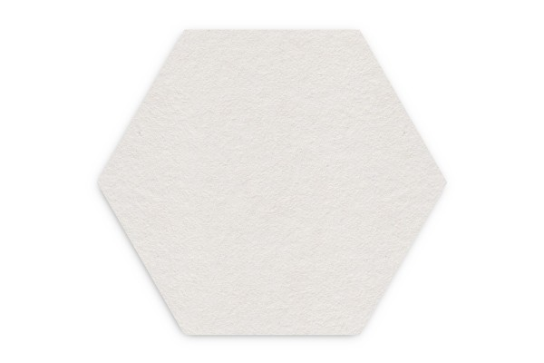 Bierdeckel blanko Hexagon 93x81 mm