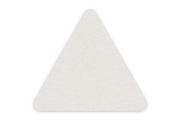 Bierdeckel blanko Dreieck 106x95 mm