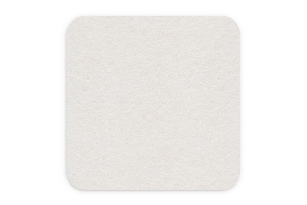 Bierdeckel blanko Quadrat 93x93 mm